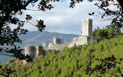 Popoli, castello e sorgenti