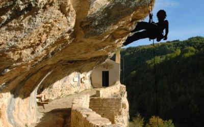 Eremo + arrampicata