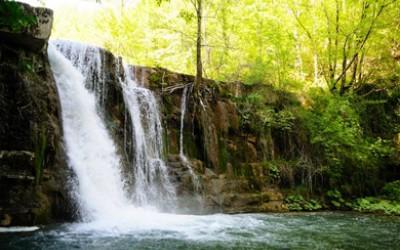 Al mulino tra boschi e cascate