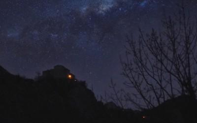 Le gole sotto le stelle